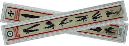 WWI War Plane Identification Ruler